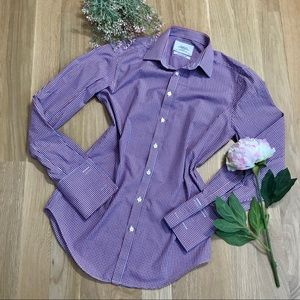 Charles Tyrwhitt  Plaid Extra Slim Fit Dress Shirt